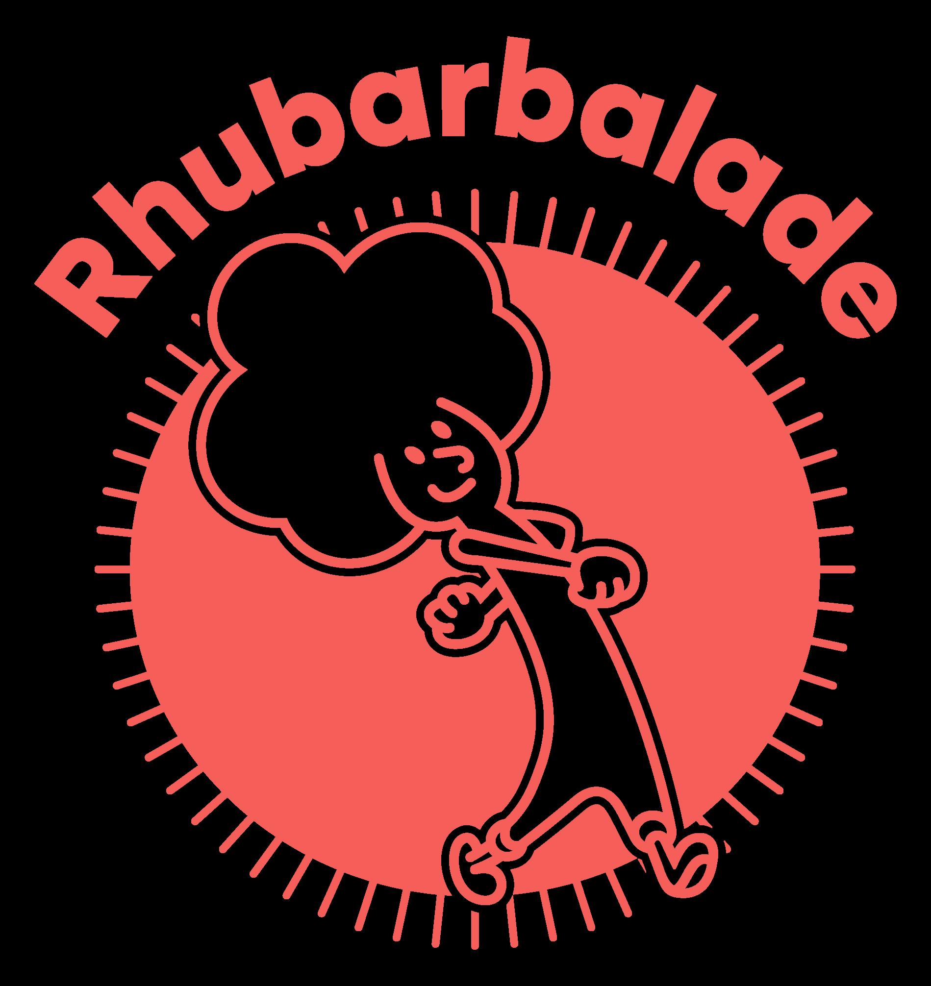 Rhubarbalade logo